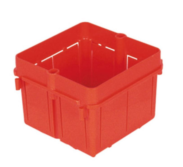 2 GANG INTERNATIONAL SQUARE FLUSH MOUNTED BOX