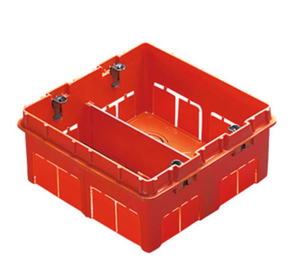 12-GANG FLUSH BOX W.METAL FIXING SUPPOR.