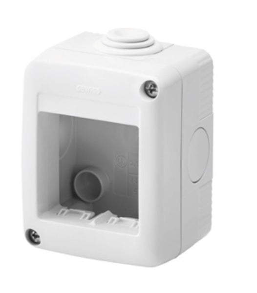 2 GANG HORIZONTAL ENCLOSURE IP40