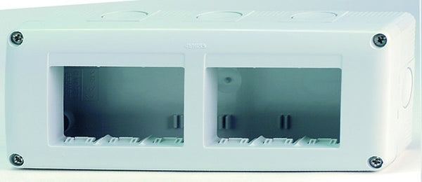 6(2x3) GANG HORIZONTAL ENCLOSURE IP40