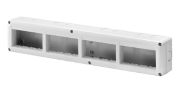 16(4x4) GANG HORIZONTAL ENCLOSURE IP40