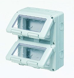 12(3x4) GANG VERTICAL ENCLOSURE IP55
