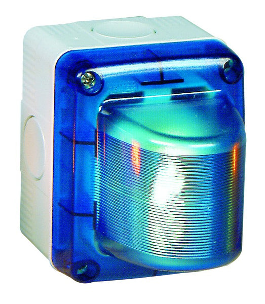 BLUE SURFACE INDICATOR LIGHT IP55