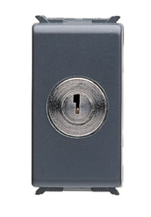 1P W.KEY LOCK TWO-WAY SWITCH 16A 250V