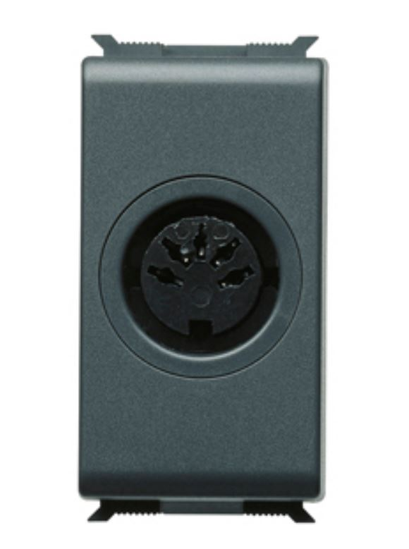 DIN 41524 - 5P (HI-FI) SOCKET OUTLET