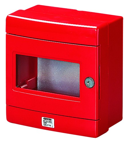 RED EMERGENCY DB 1x8M IP65