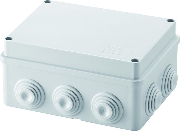 IP55 BOX 300x220x120 WITH CABLE GLAND