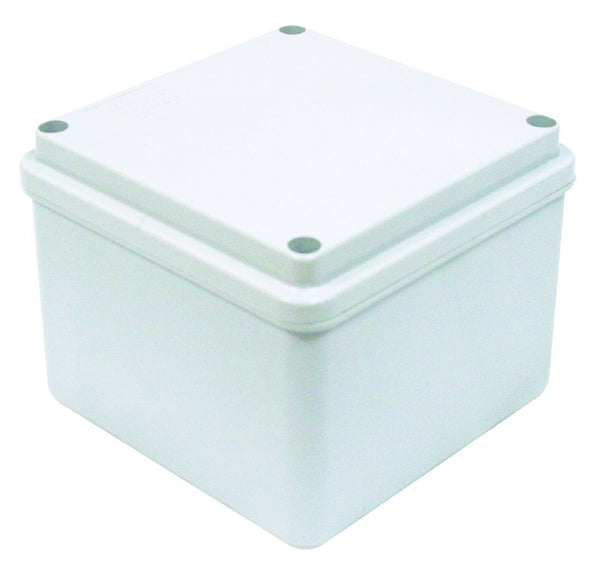 ENCLOSURE DEEP BASE 240x190x130 CLEAR LID IP56