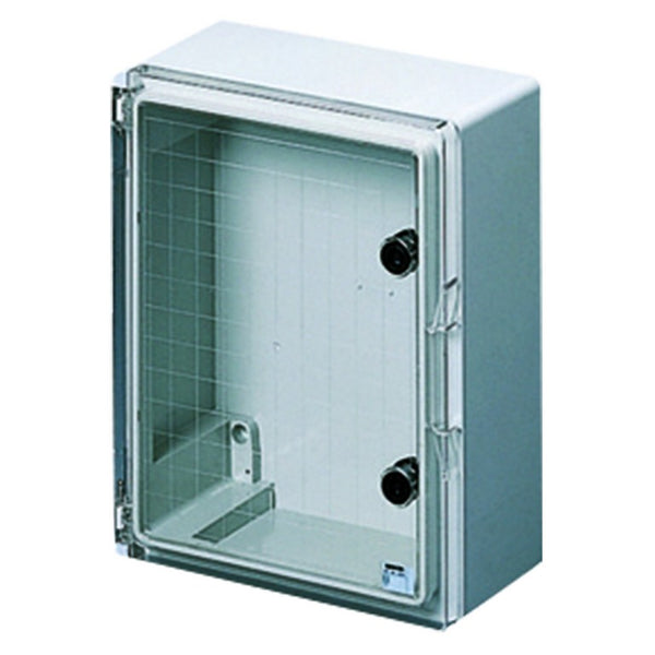 ENCLOSURE 300x220x135 IP55 TRANSP. DOOR
