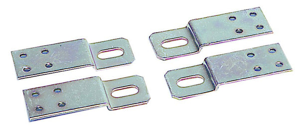 SET OF 4 STAINLESS STEEL BRACKETS
