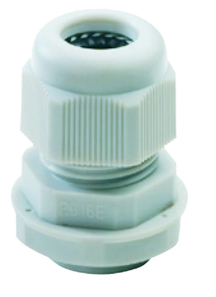 NYLON CABLE GLAND WITH FIXING NUT - PG42 -IP68