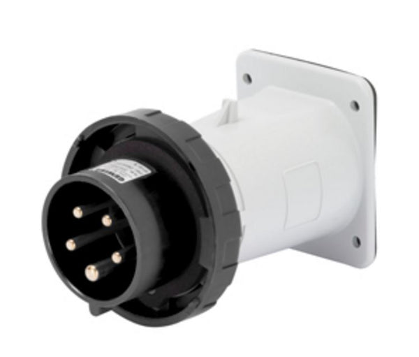 32A 3P+N+E 500V APPLIANCE INLET IP67 7H