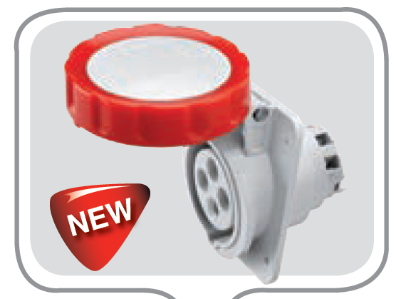 16A 3P+E 110V FLUSH 10D APPL SOCKET 4H I