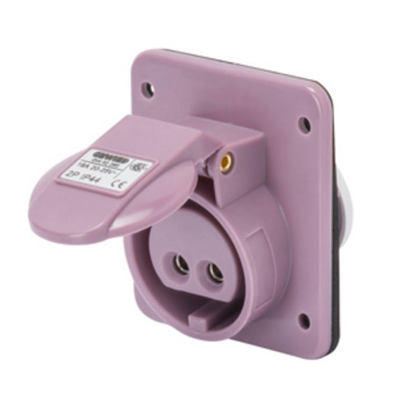 16A 2P 24V 10DEG SOCKET OUTLET IP44
