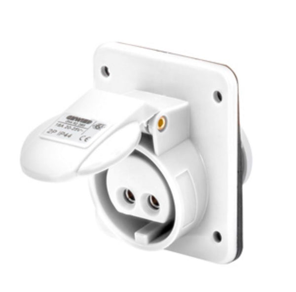 16A 3P 42V 10DEG SOCKET OUTLET IP44 12H