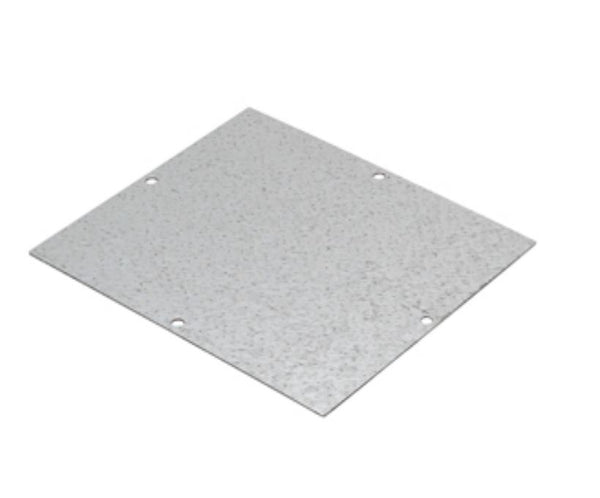 BACK-MOUNTING STEEL PLATE 128X103