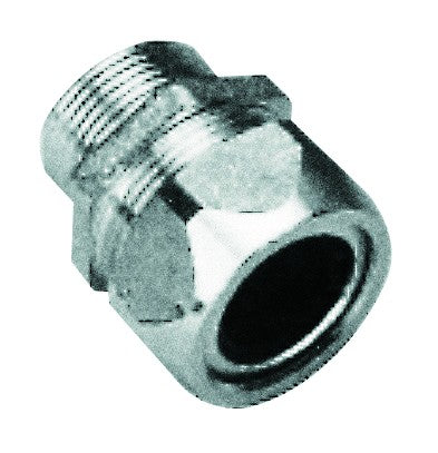 PG21 CABLE GLAND NICKEL PLATED BRASS