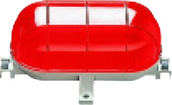 TARTA 60W E27 IP44 RED DIFFUSER
