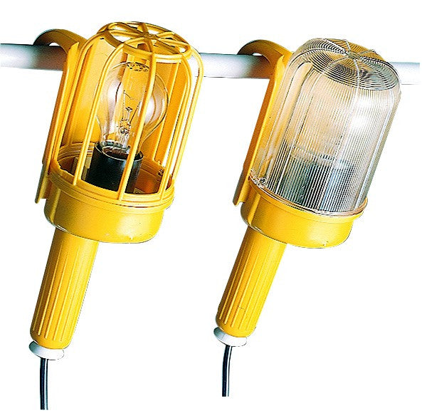 HOBBY HAND LAMP 40W E27 WITH GUARD