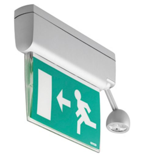KNX STARTEC EIB - M DOUBLE SIDED EMERGENCY LIGHT LED 3+3W 1h