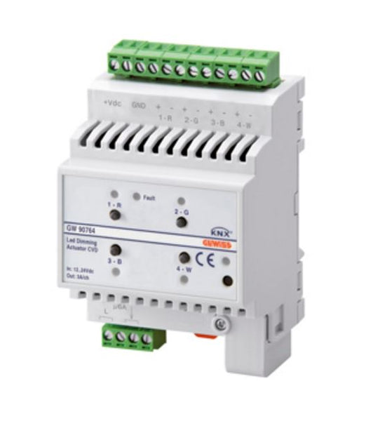 KNX DIMMER ACTUATOR CVD LED 4 CHANNEL 12/24V dc