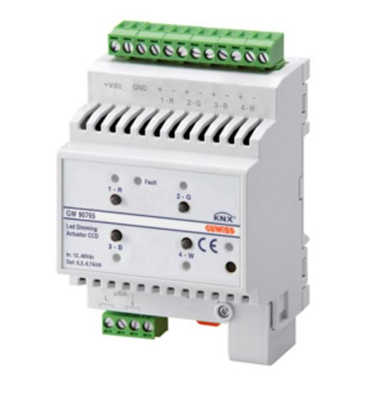 KNX DIMMER ACTUATOR CCD LED 4 CHANNEL 12/24V dc