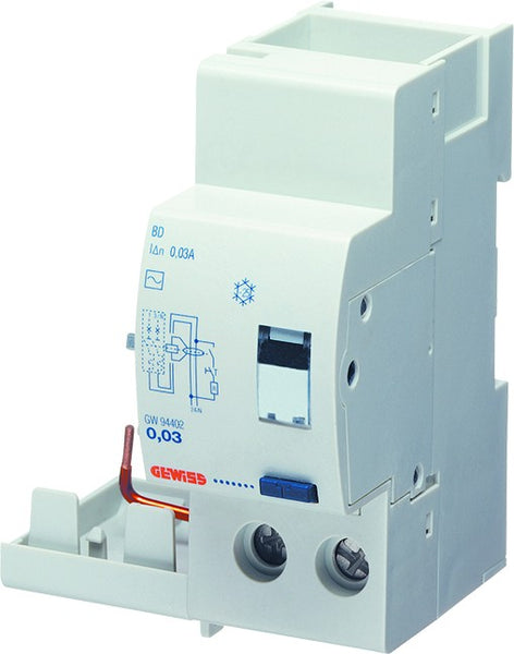 ADD-ON RCD 2P AC 10MA <25A INSTANT 2M