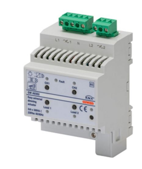 EASY UNIVERSAL DIMMER ACTUATOR  2 CHANNEL 300VA (NON LED)