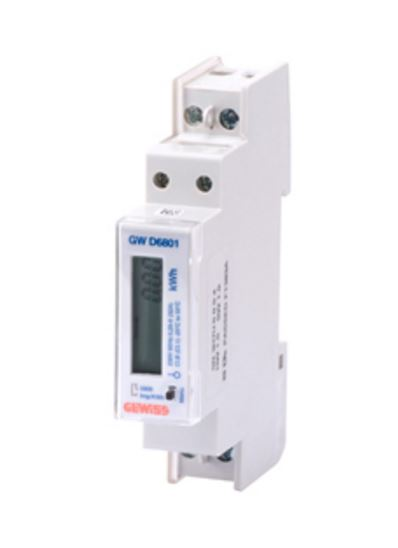ENERGY METER 1-PHASE DIRECT CONNECTION 230V ac 32A