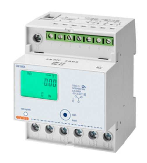 ENERGY METER 3-PHASE DIRECT CONNECTION 400V ac 80A