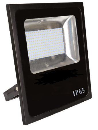 85-265VAC 80W COOL WHITE LED ALUM. FLOOD LIGHT IP65