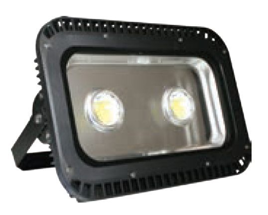 85/265VAC 140W WARM WHITE LED ALUM. FLOOD LIGHT IP65