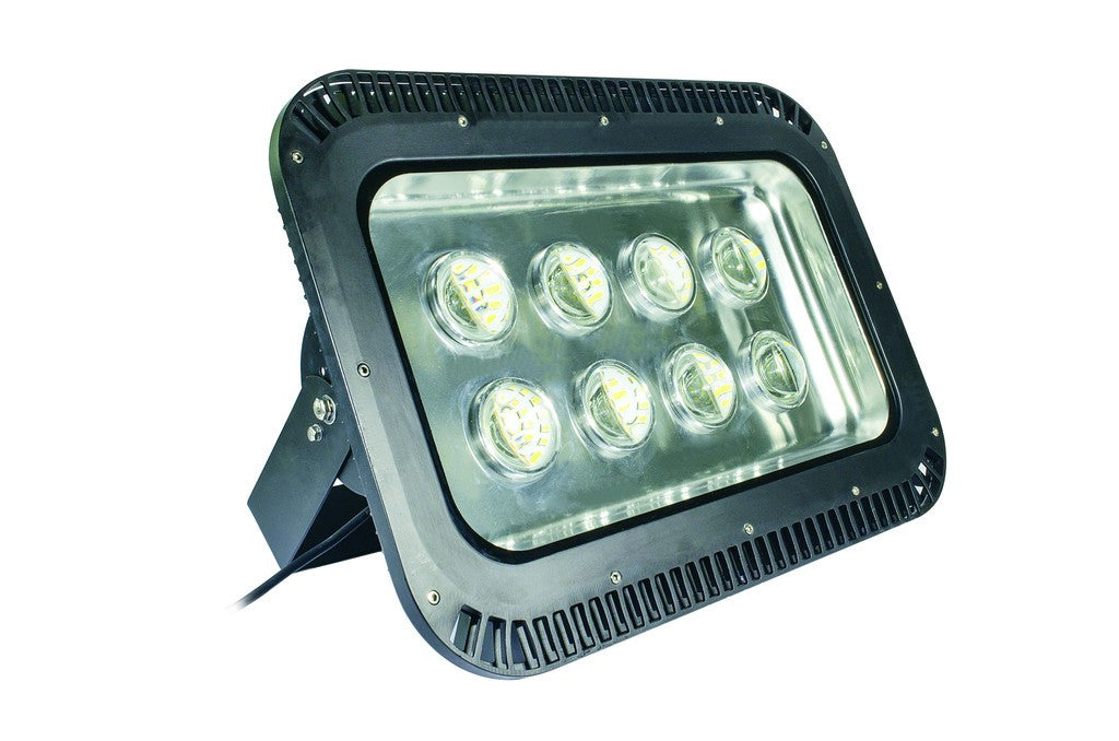 85-265VAC 200W WARM WHITE LED ALUM. FLOOD LIGHT IP65