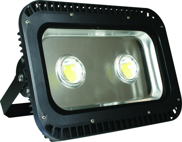 85-265VAC 150W WARM WHITE LED ALUM. FLOOD LIGHT IP65