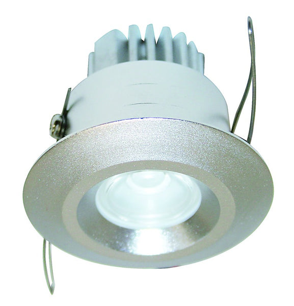 1W HI-POWER COOL WHITE LED DOWNLIGHT 230VAC C/W LED DRIVER