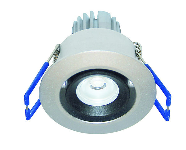 1W HI-POWER YELLOW LED DOWNLIGHT 230VAC C/W LED DRIVER