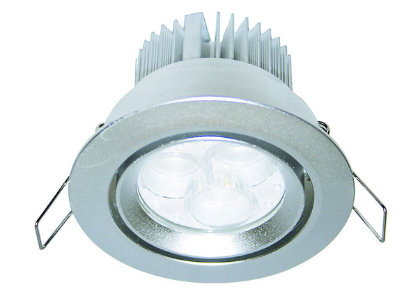 3W HI-POWER GREEN LED DOWNLIGHT 230VAC C/W LED DRIVER