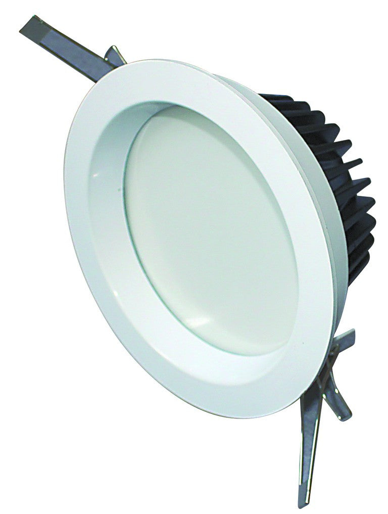 12W HI-POWER WARM WHITE LED DOWNLIGHT 230VAC DIMMABLE