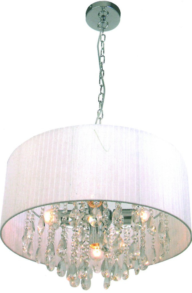 230VAC 5X60W E27 PENDANT LIGHT FITTING Ø500XH700 MM