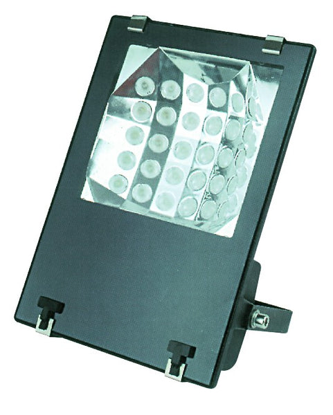230VAC COOL WHITE LED ALUM. FLOOD LIGHT 52.5W 30LED IP65