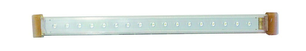 230V WARM WHITE LED STRIP LIGHT IP65 1000x22x22MM