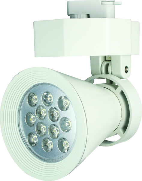 230VAC WARM WHITE 2-WIRE LED TRACK LIGHT 12W