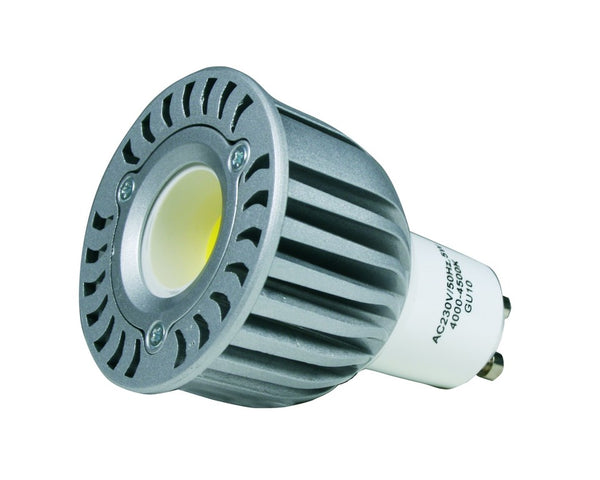 230VAC 5W COOL WHITE LED SPOT LIGHT GU10