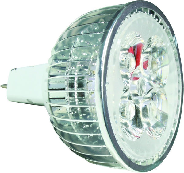 12VAC/DC 4W WARM WHITE LED SPOT LIGHT GU5.3