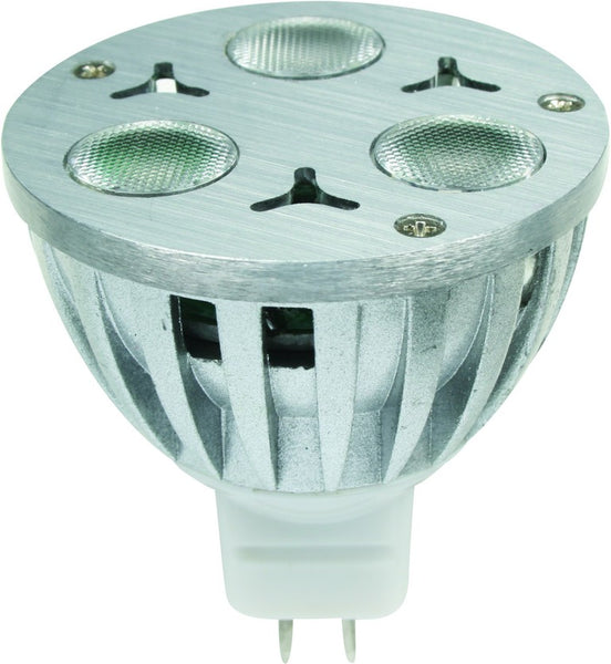 230VAC OR 12VDC RGB LED LAMP 3W GU53