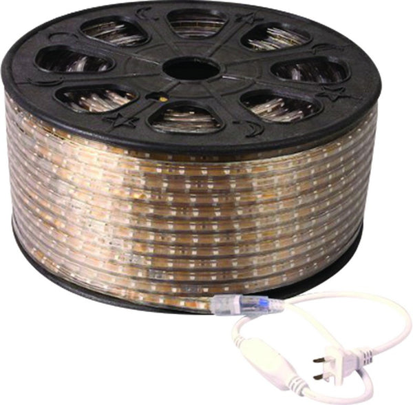 230VAC 7.2W/M 30LED/M LED FLEX ROPE LIGHT R/G/B IP67 10M LEN