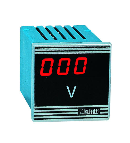 PROGRAMMABLE AC AMP/VOLTMETER 48x48 115/230VAC