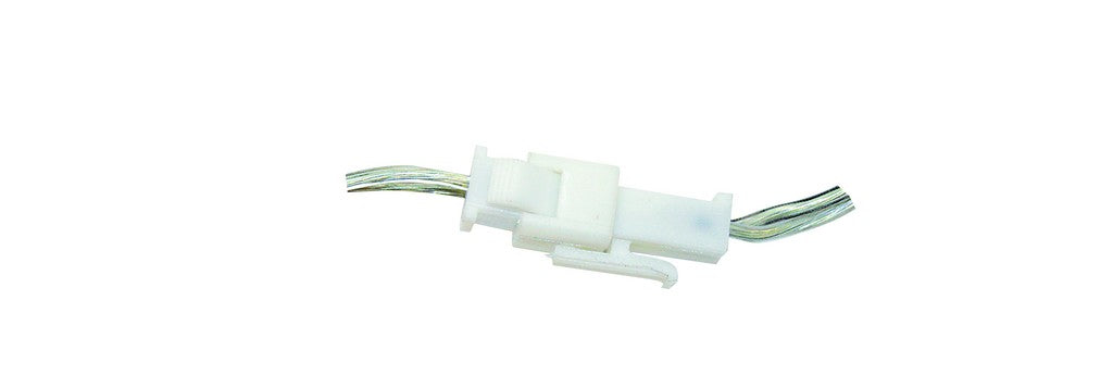 White 2 wire connector for img b30 led strip lights 10 acdc white 2 wire connector for img b30 led strip lights 10 aloadofball Choice Image