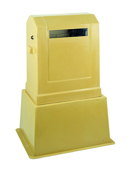 F/GLASS SHROUDED DISTRIBUTION KIOSK 24WAY
