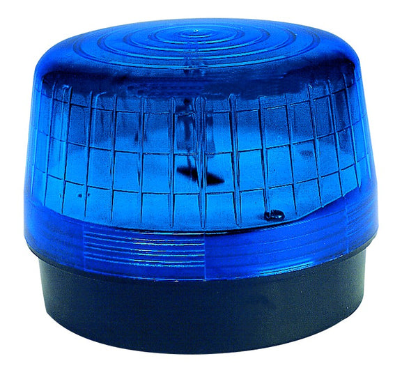 BLUE STROBE BEACON 40/80FPM IP53 24VAC/DC